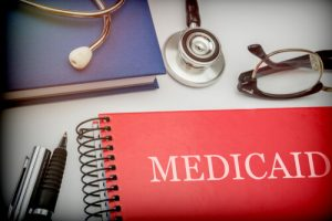 Folder with medicaid